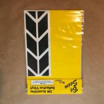 BMW R1200GS Adventure Saddlebag Corner Reflective Tape kit BLACK ME RK-40B